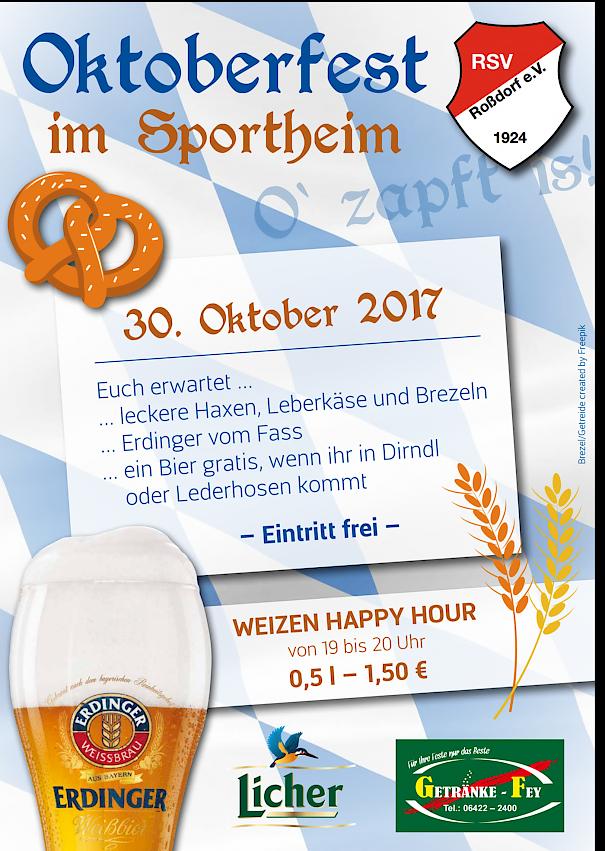 oktoberfest 2017, Einladung